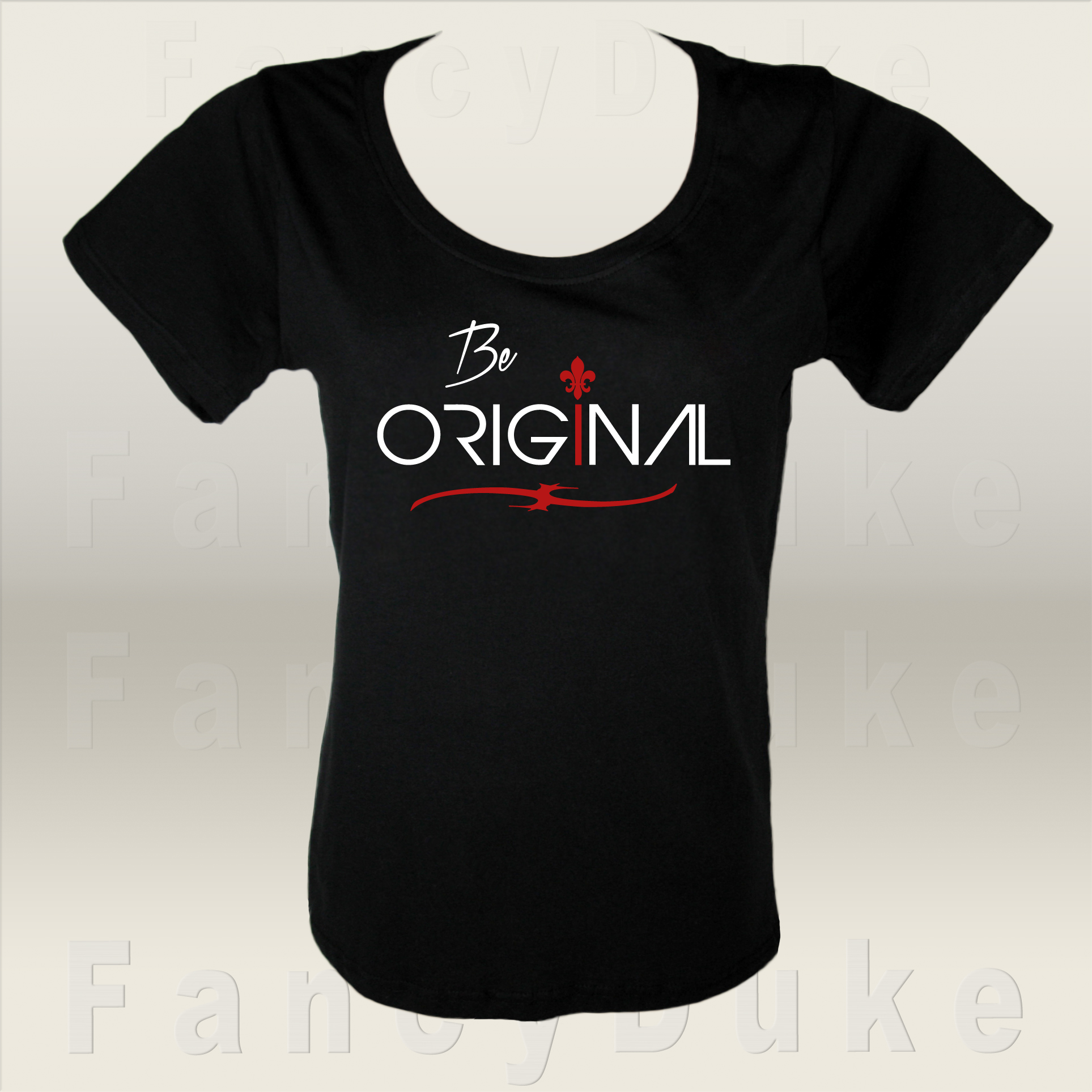 Be Original T-Shirt Design by Svetlana
