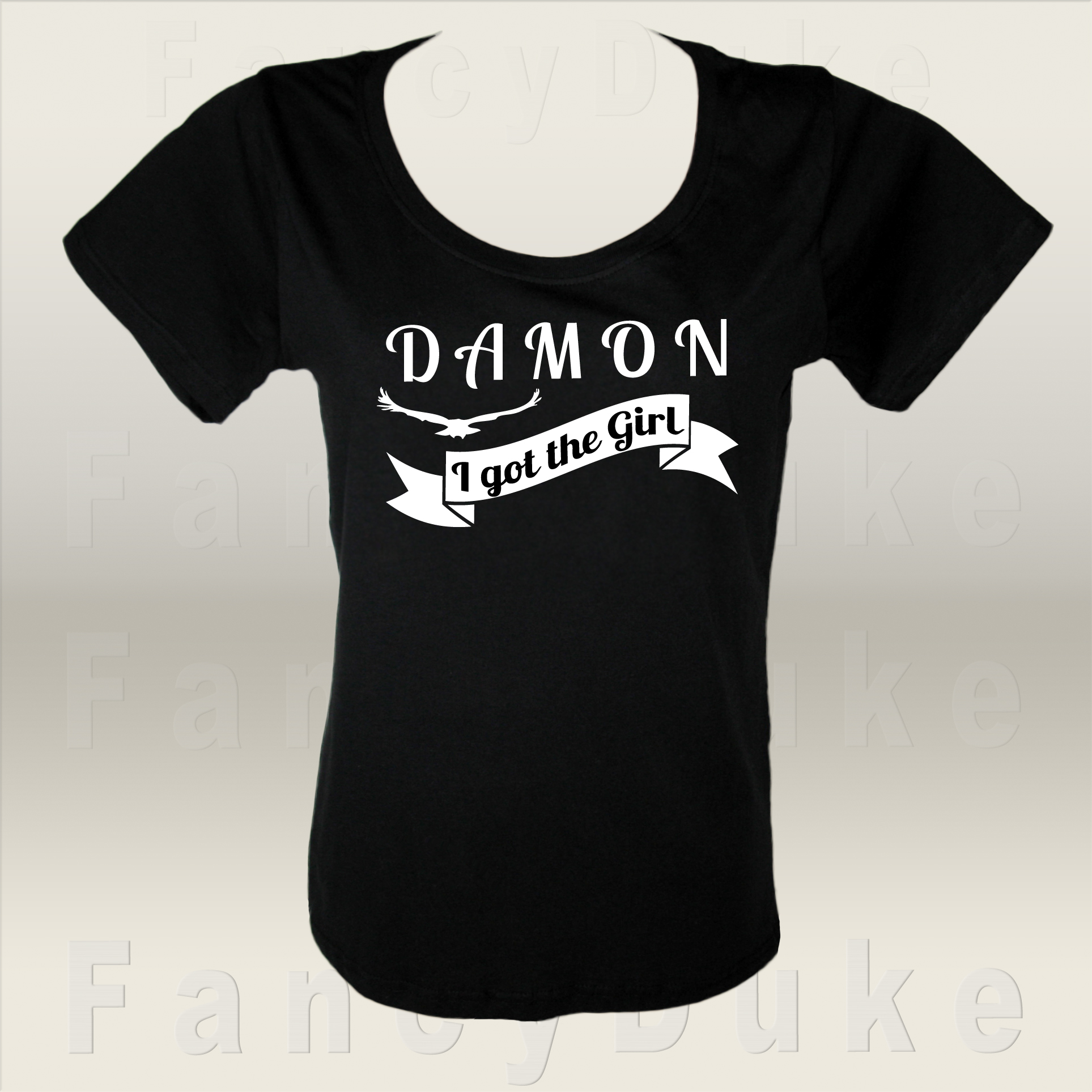 Damon T-Shirt Design by Svetlana